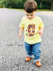 Scarecrow Shirt | Harvest Shirt | Scarecrow Shirt |Thanksgiving Shirt for Boy | Fall Shirt | Fun Fall Shirt | Maple Leaves | Thanksgiving - Mickie and Mum Personalized Baby Outfits
