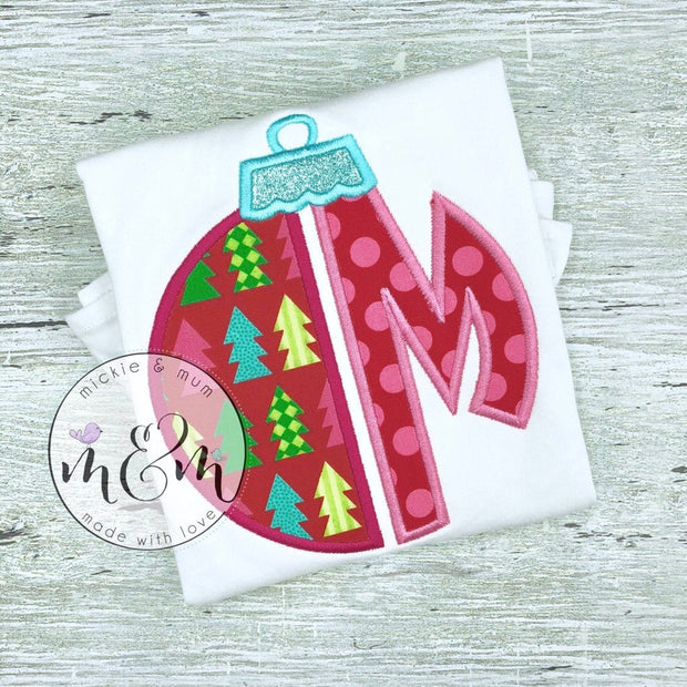 Christmas shirt for girl - Holiday shirt - Christmas tree shirt - Mickie and Mum Personalized Baby Outfits