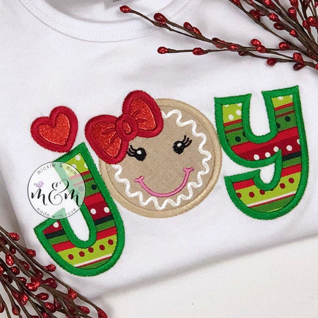 Gingerbread Christmas Shirt | Christmas Shirt | Ginger bread Christmas Shirt | Monogrammed Christmas Shirt | Holiday Shirt | Gingerbread - Mickie and Mum Personalized Baby Outfits
