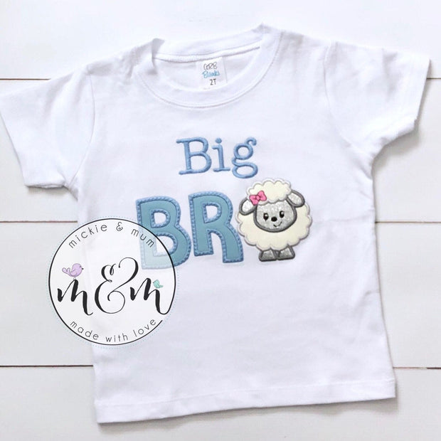 Little Brother Shirt | Big Brother Shirt | Lil Bro Shirt | Big Bro Shirt | Wonder Woman Shirt - Mickie and Mum Personalized Baby Outfits
