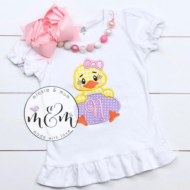 Daddy's Other Chick Shirt | Custom Easter Shirt | Happy Easter Shirt for Girl | Easter | Easter Shirt | Easter Chick - Mickie and Mum Personalized Baby Outfits