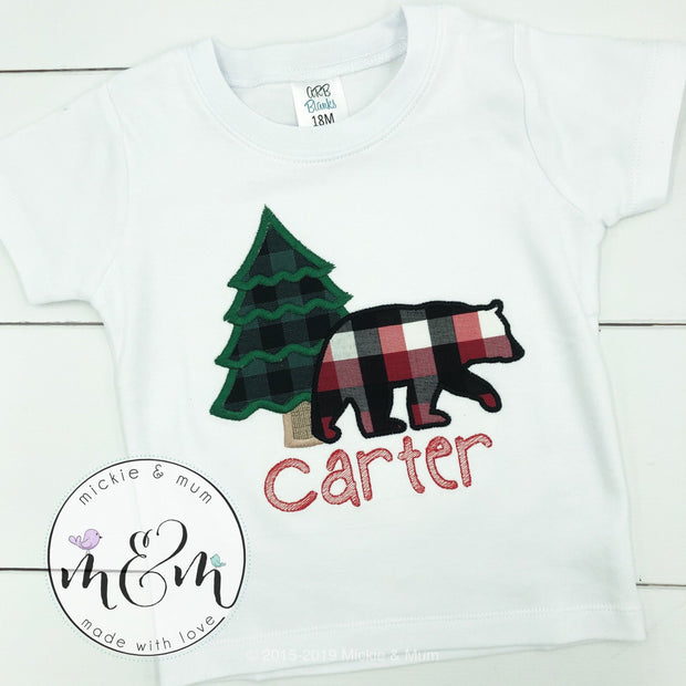 Lumberjack Birthday Shirt - Wild Birthday Shirt - Birthday Boy Shirt - Mickie and Mum Personalized Baby Outfits
