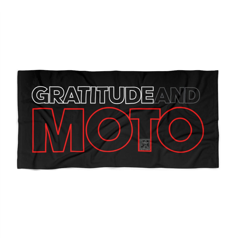 Gratitude Beach Towel