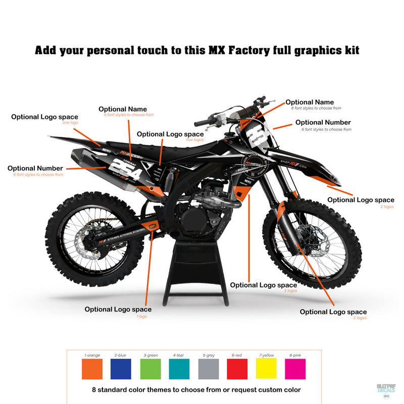 MX Factory Edition 001 Graphics