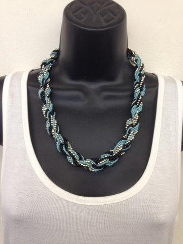 Necklace-Beaded Twist