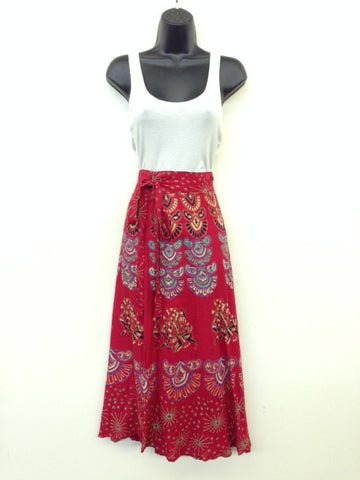 Mandala Wrap Skirt- Long Length