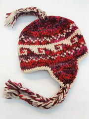 Child Size Wool Earflap Hat