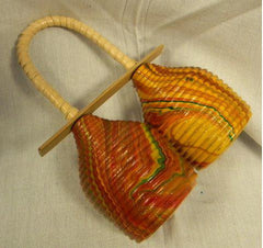Instrument-Wicker Double Rattle