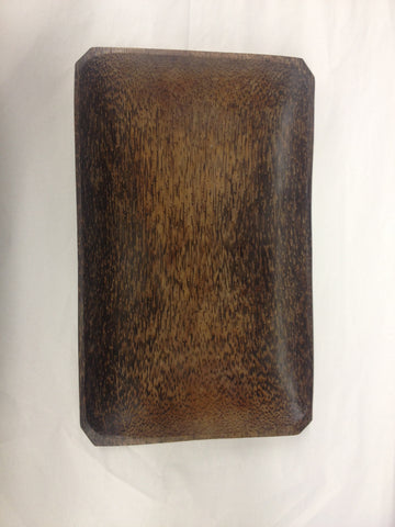 "Coconut Wood Tray 8""x12"""