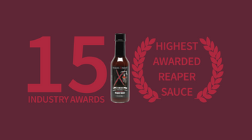 The Best Carolina Reaper Sauce - 15 Awards | Elijah's Xtreme