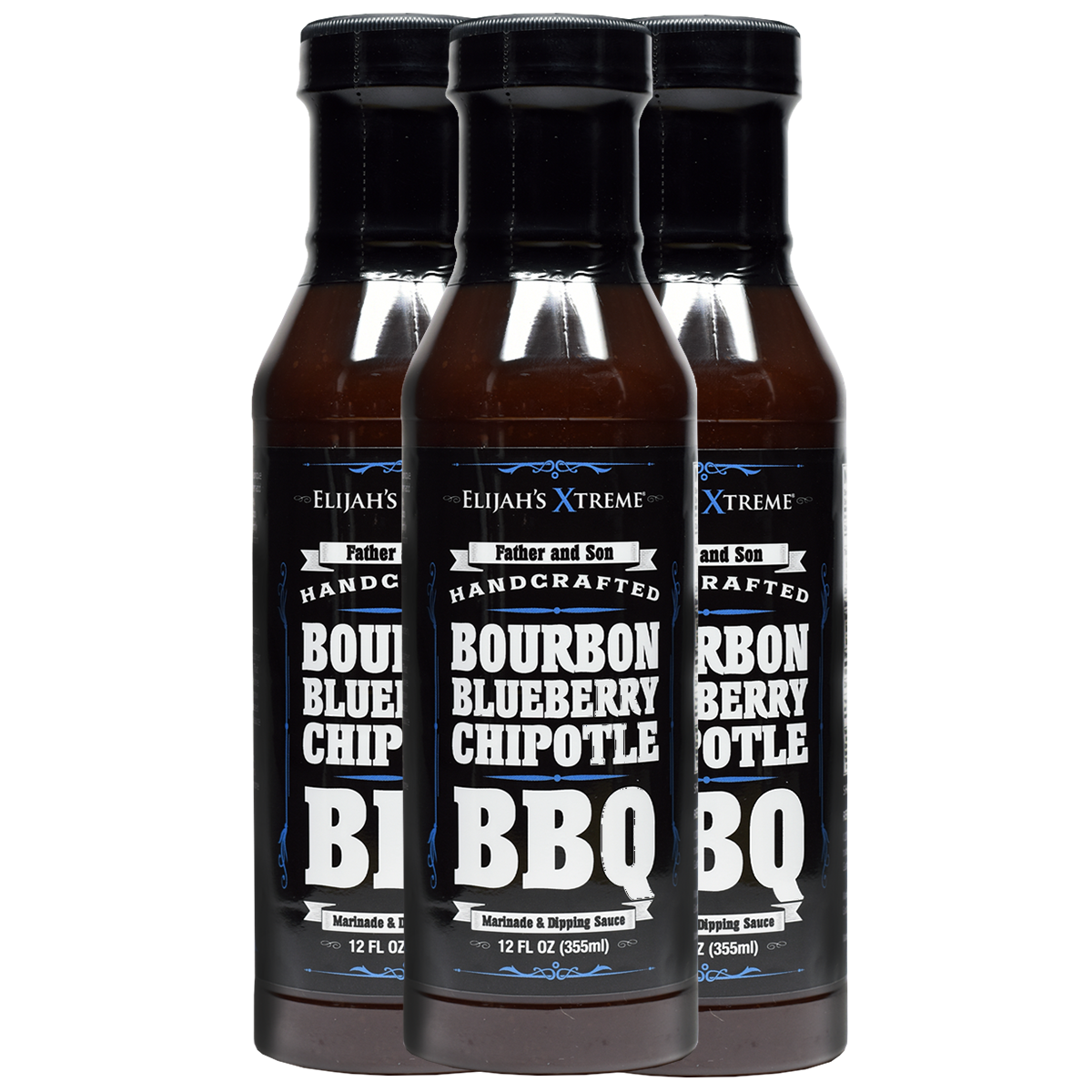 BOURBON INFUSED BLUEBERRY CHIPOTLE BBQ