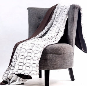 Decora Luxury Super Soft Blanket - P.V Fur - Various Colours - 150CM