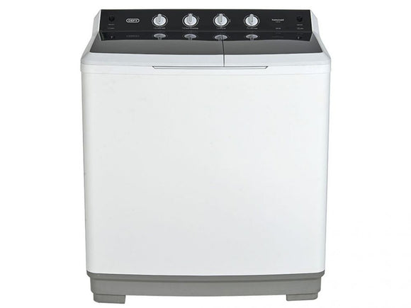 DEFY - 18kg Semi Automatic Twin Tub - White