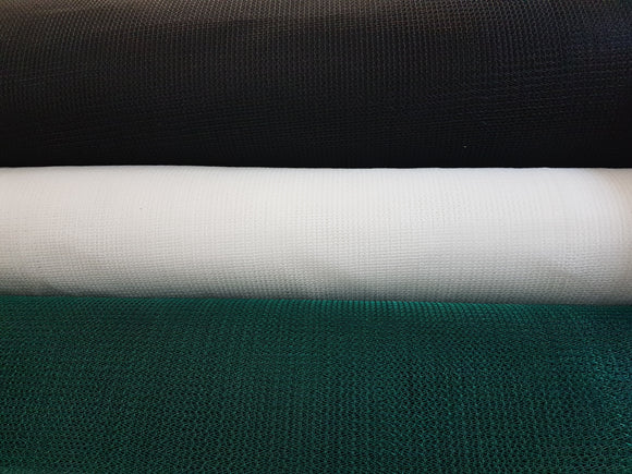 Shade Net - 50% (3m Width) - Various Colours