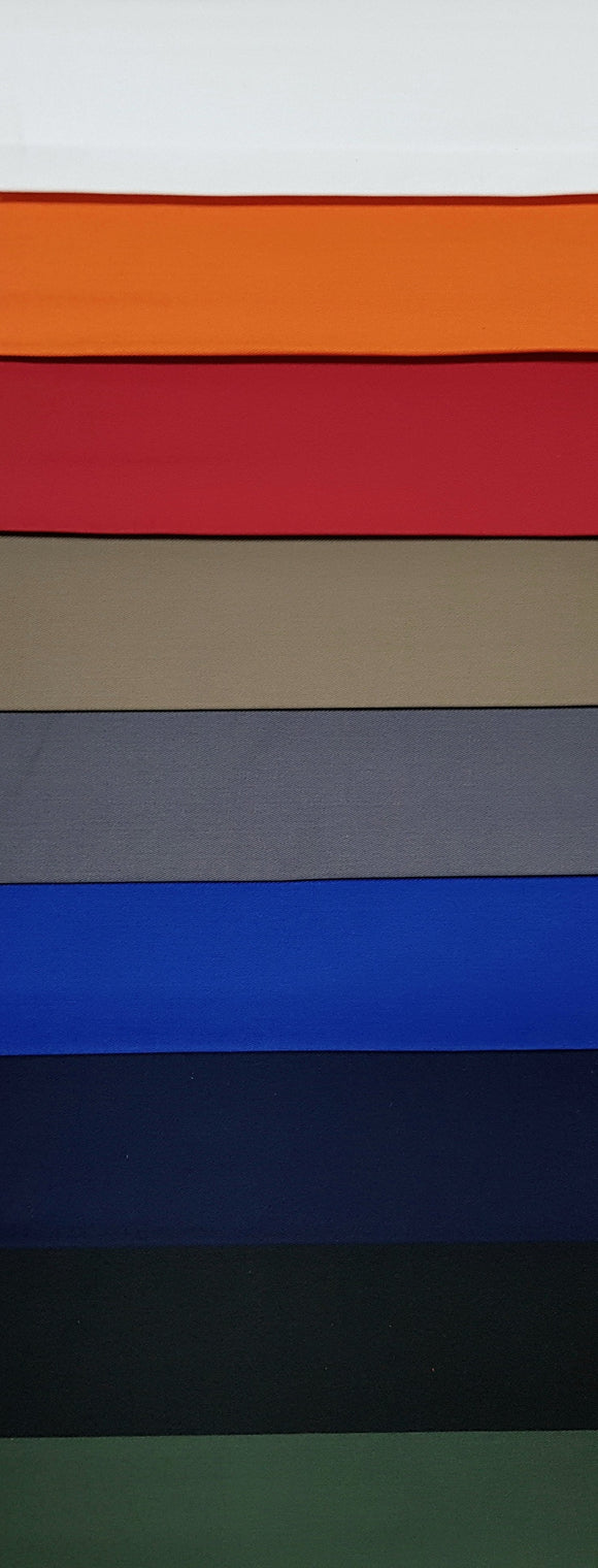 T/C Cotton Twill (235 GSM) - Various Colours - 150cm