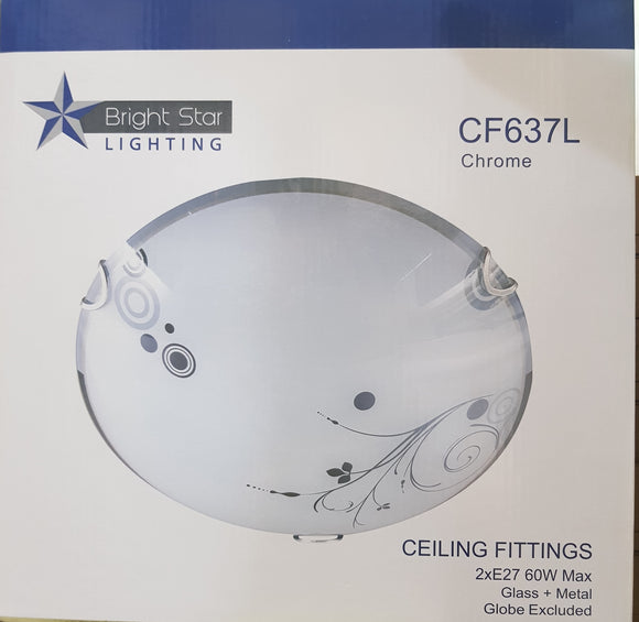 Bright Star - Chrome Ceiling Fitting - CF637L