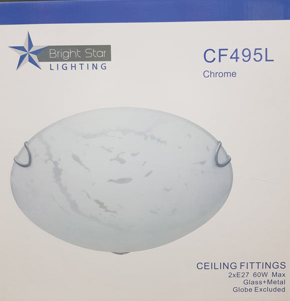 Bright Star - Chrome Ceiling Fitting - CF495L