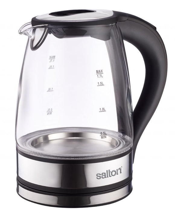 Salton 1.7L Glass Kettle - SCGK80E