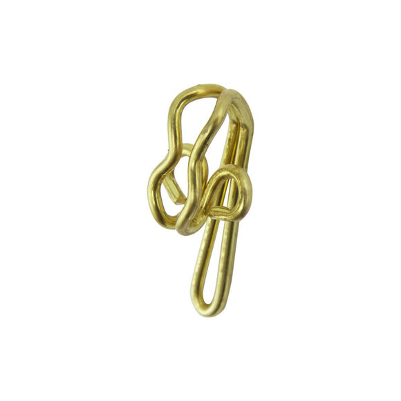 Curtain Brass Hooks R7 - 100's