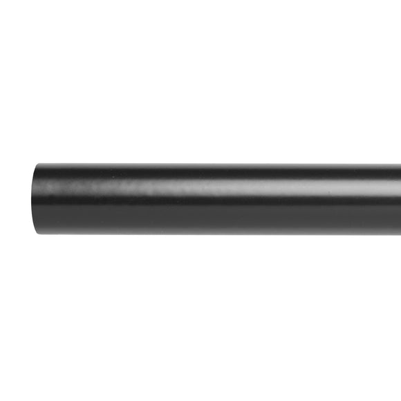 25MM - Curtain Rod - Black Nickel - 1,5m/2m/2,5m/3m