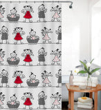 Shower Curtains - Assorted designs
