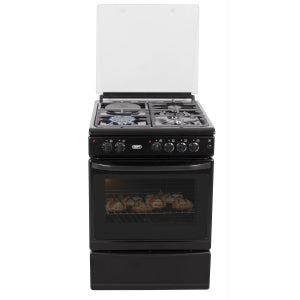 DEFY - 600 Series Gas Electric Stove - Black