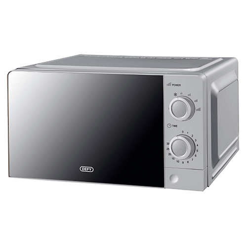 DEFY - 20L Manual Microwave Oven - DMO381 - Silver MIrror