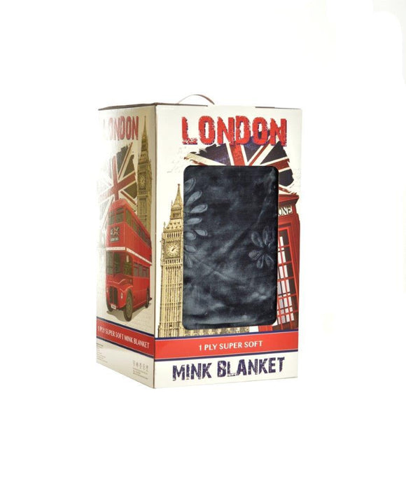London Mink Blankets - King/Queen