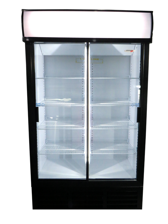 FridgeStar Sliding Door Bottle Cooler - (ES1140)