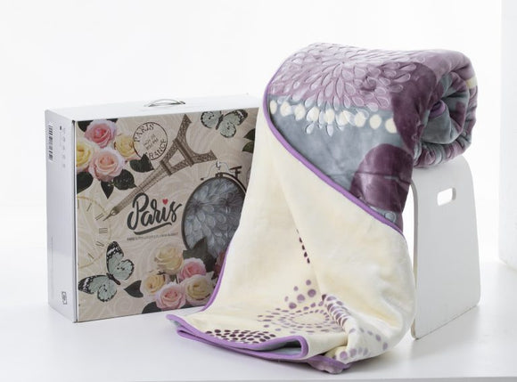 Paris Mink Blankets - Box Pack 2 Ply - Queen