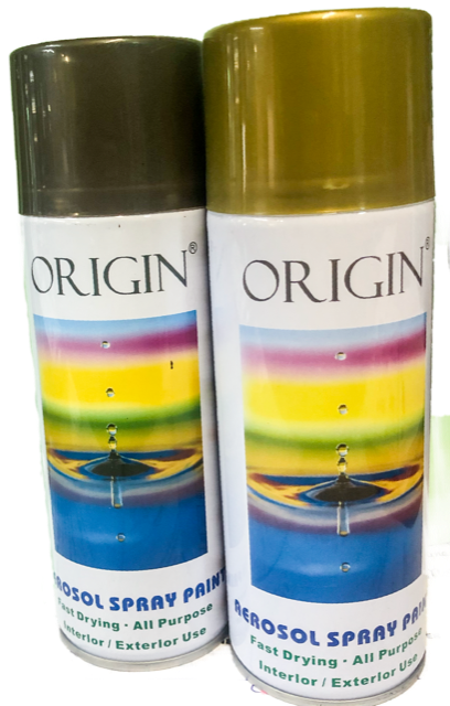 Origin Aerosol Paint - Plain Colours