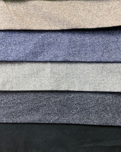T/C Single Jersey Milange Dyed - Assorted Colours - 180CM