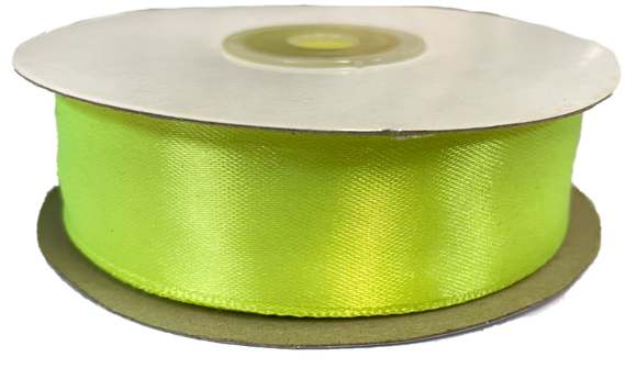 Polyester Satin Ribbon - Assorted Colours - 25MM