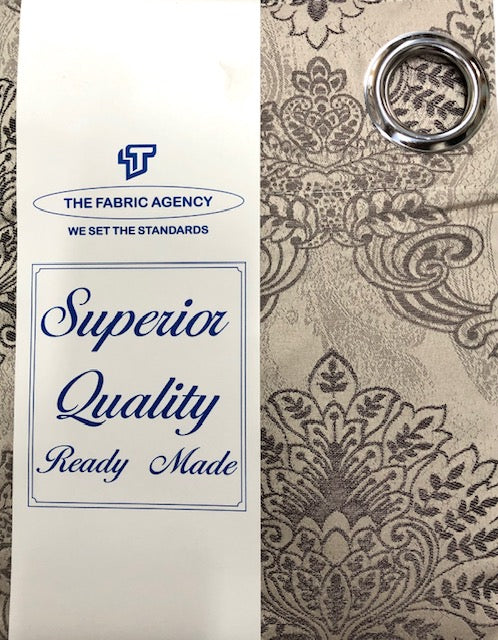 The Fabric Agency - Superior Quality Ready-made Curtain (Eyelet/Tape) - DSN897