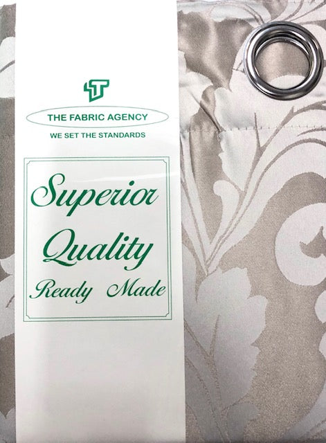 The Fabric Agency - Superior Quality Ready-made Curtain (Eyelet/Tape) - DSN396