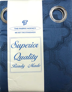The Fabric Agency - Superior Quality Ready-made Curtain (Eyelet/Tape) - LH889
