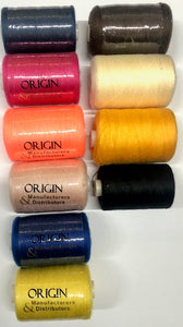Origin Sewing Thread - Assorted Colours - 1000M