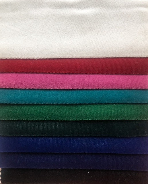 Triple Velvet - Various Colours - 115cm