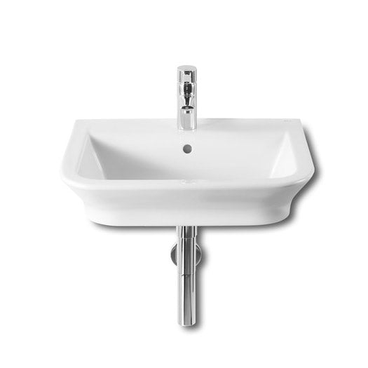 Roca - Inspira Over Countertop FINECERMAIC basin - White