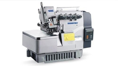 Gemsy Industrial 5-THREAD Overlock GEM7725E Machine