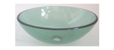 Glass Designer Basin - Assorted Colours and Designs