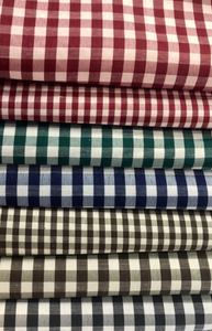 Gingham Check 69GSM - Various Colours - 150CM