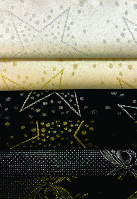Roman Metallic Jacquard - Assorted Colors - 280CM