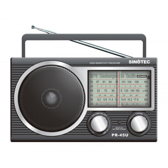 Sinotec - Portable Radio - USB/SD/Radio