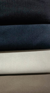 Suiting Fabric, Thinner Stripe (Poly Viscose) - Various Colours - 150cm