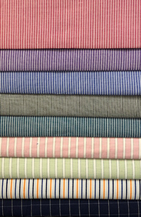Yarn Dyed Shirting - Various Colors - 150CM (Card 4)