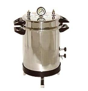 Portable Steam Stericlave Autoclave (Electric