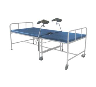 Obstetric Delivery Bed in 2 Parts with 2 Sect