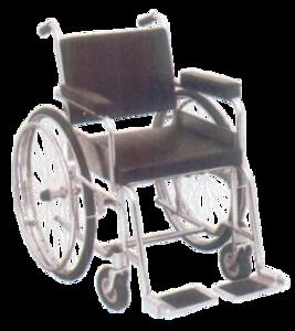 Non Foldable Invalid Wheel Chair JS10128