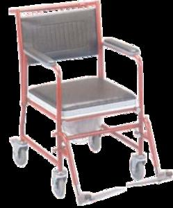 Invalid Wheel Chair with Commode JS10127